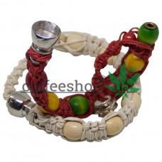 Smoking pipe bracelet