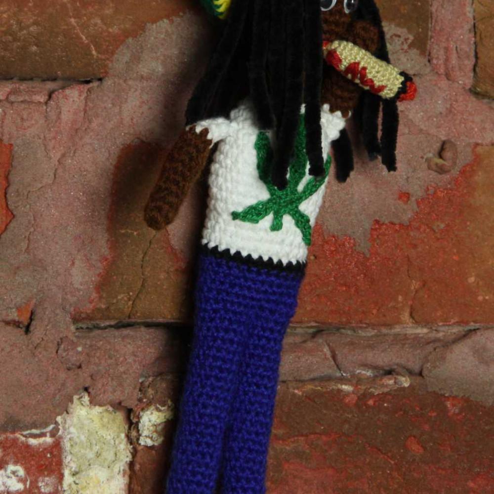 Кукла вязаная Rasta-man