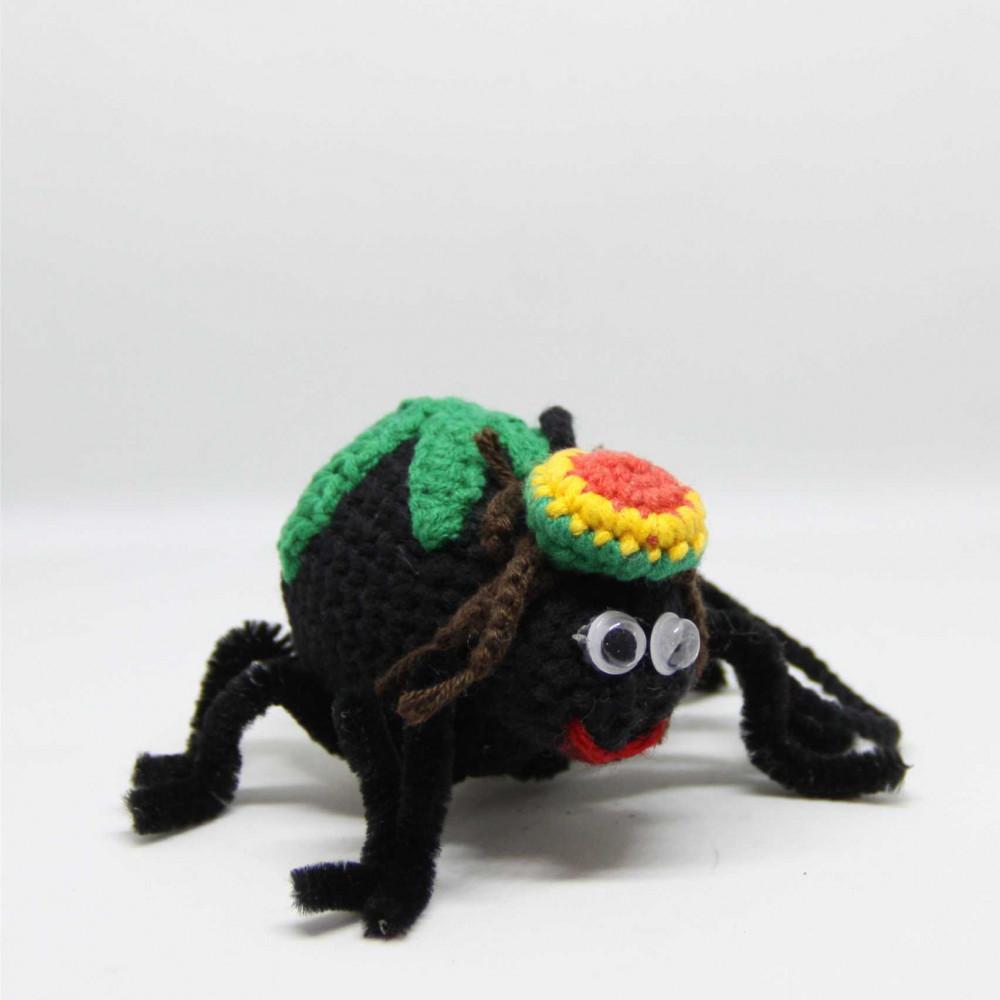 Игрушка вязаная паук Раста