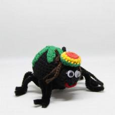 Игрушка вязаная Раста паук