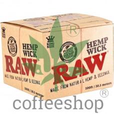 Нить для розжига RAW Hemp Wick 30,5 метров