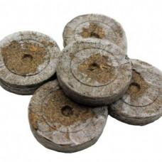 Peat germination tablet