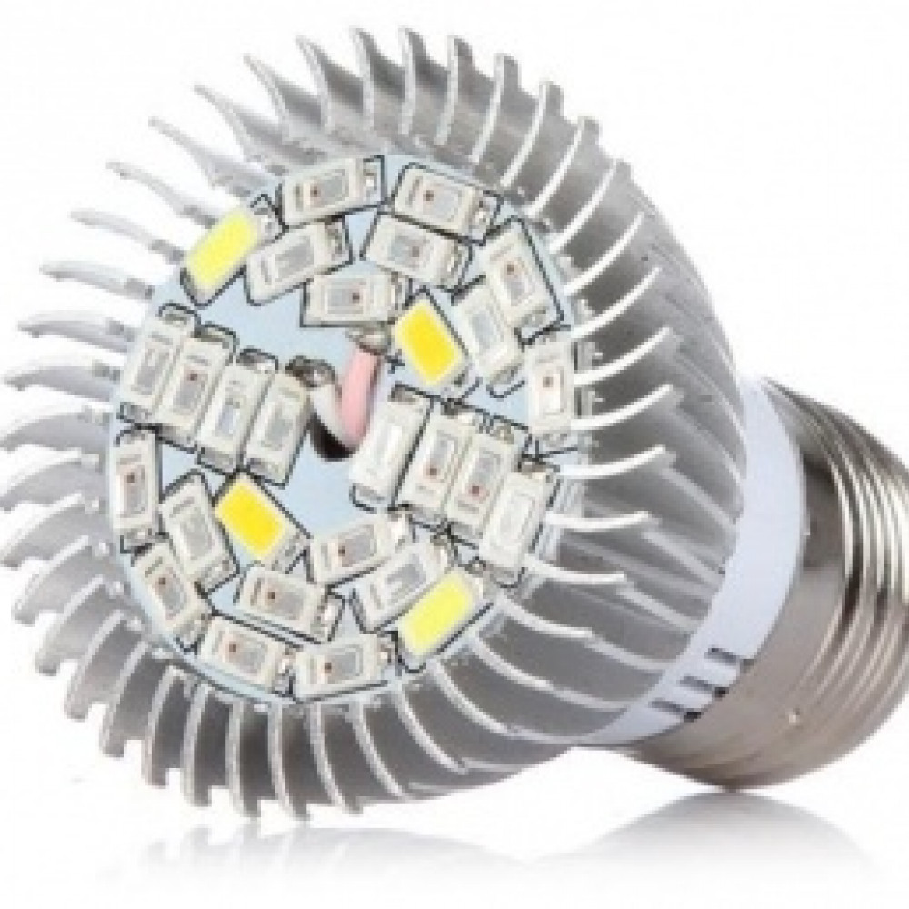 LED лампа для растений 25 W полный спектр